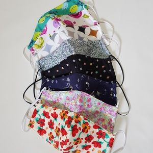 Other - Triple layers face mask, Handmade, Washable- 1 pc.